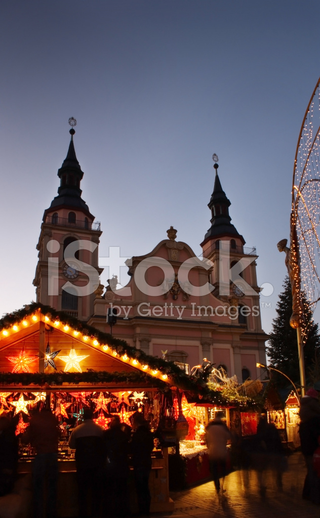 German Christmas Market Stock Photos