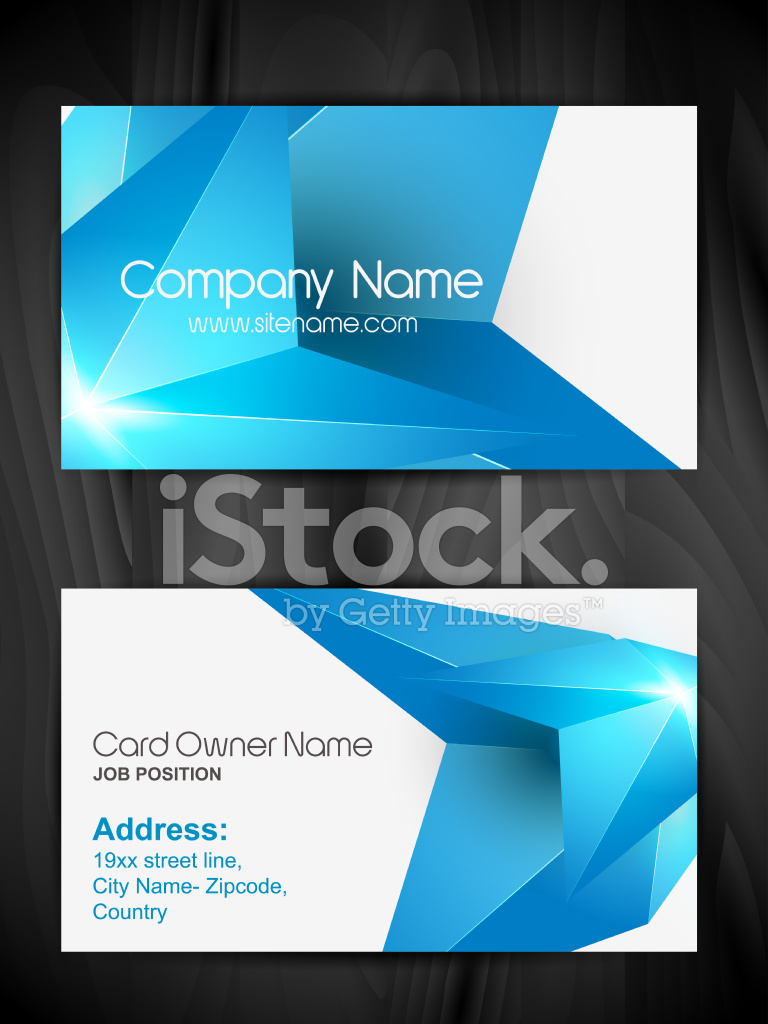 Kreative Visitenkarten Stock Vector Freeimages Com