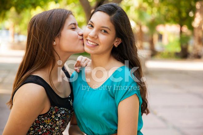 Kissing My Best Friend Stock Photos - Freeimagescom-8036