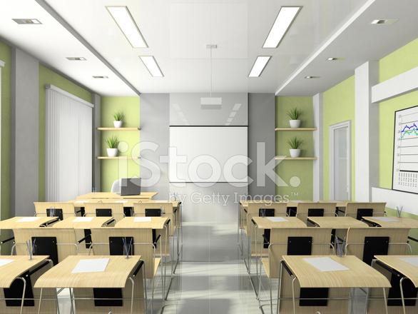 Interieur Van DE Conferentiekamer Voor Seminars, Studies ...