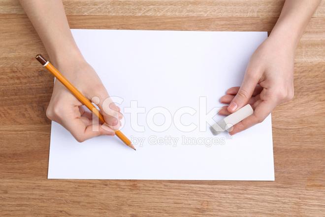 знакомство с карандашом и бумагой