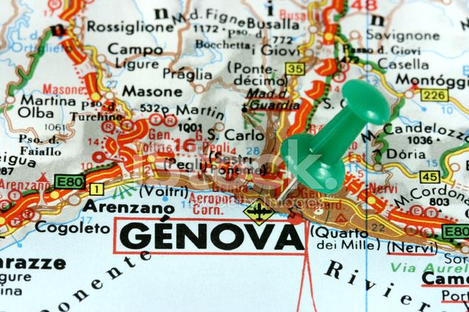 Italien Karta Genova.Genova Karta Karta