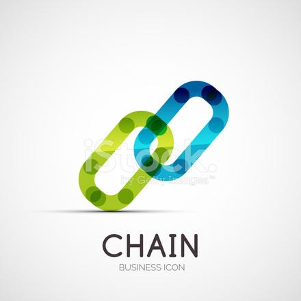 Verbindung Symbol Firmen Logo, Unser Geschäftskonzept Stock Vector ...