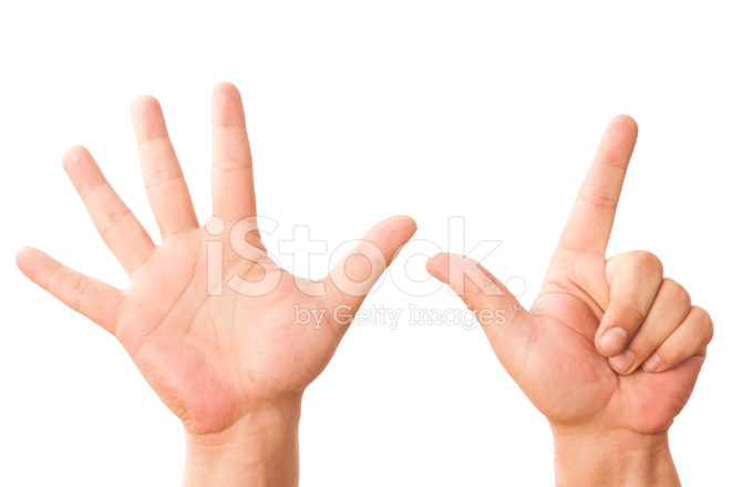 Hand Sign Number Seven Stock Photos Freeimages Com