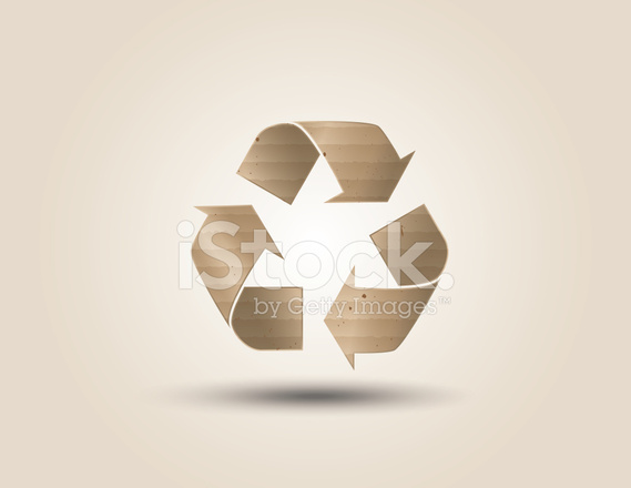 Recicl O Smbolo Ou Sinal De Stock Vector Freeimages