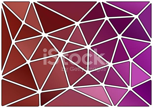 Poster Abstrakt Dreieck Muster Pixers Wir