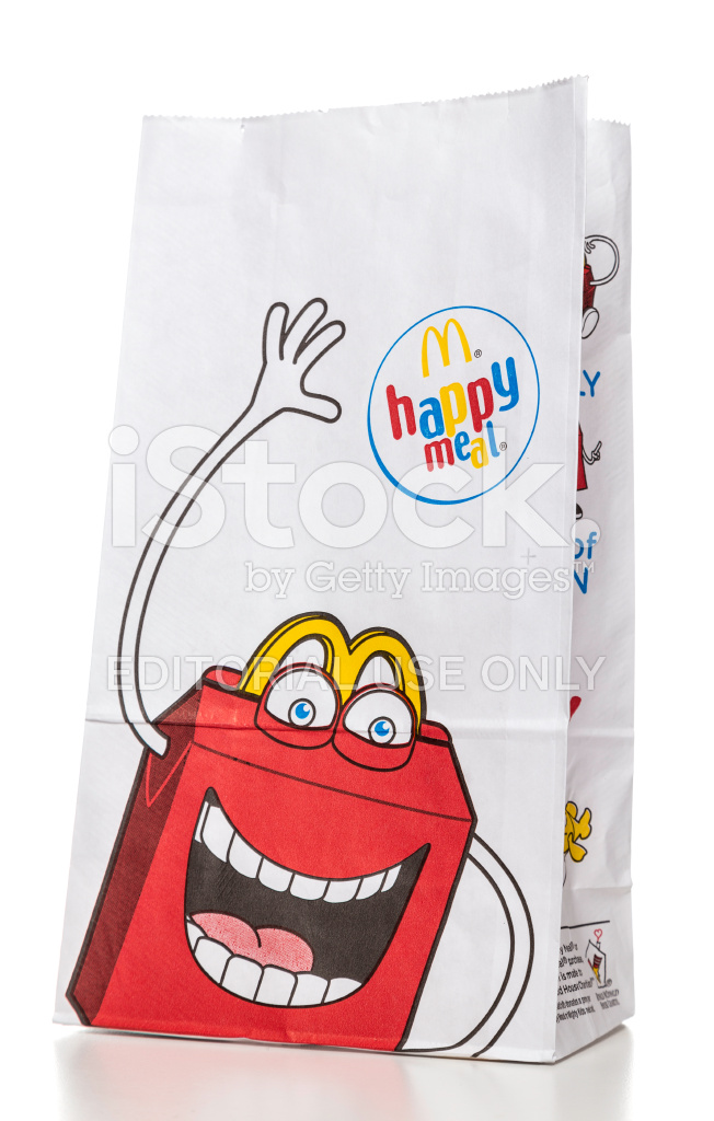 Mcdonalds Happy Meal Paper Bag Stock Photos - FreeImages.com