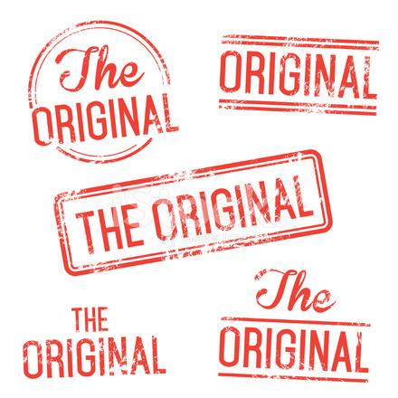 the original vector stamp set stock vector freeimages com