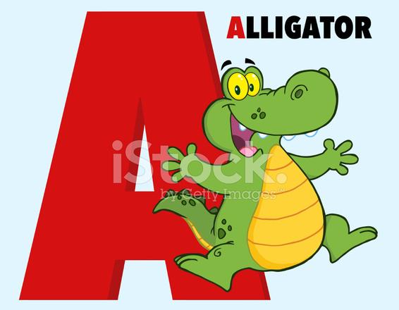 Alfabeto engraado dos desenhos animados a com jacar e texto stock alfabeto engraado dos desenhos animados a com jacar e texto thecheapjerseys Gallery