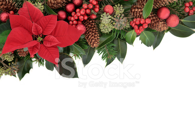 Traditional christmas border stock photos freeimages