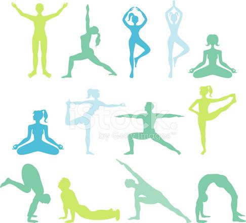 Figuras DE Yoga Stock Vector - FreeImages.com