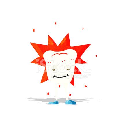 Diente Feliz DE Dibujos Animados fotografas de stock  FreeImagescom