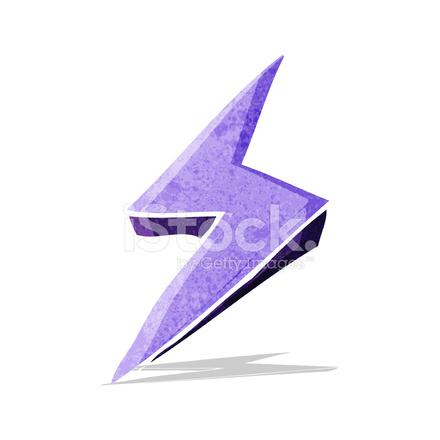 Cartoon Lightning Bolt Symbol Stock Vector - FreeImages com