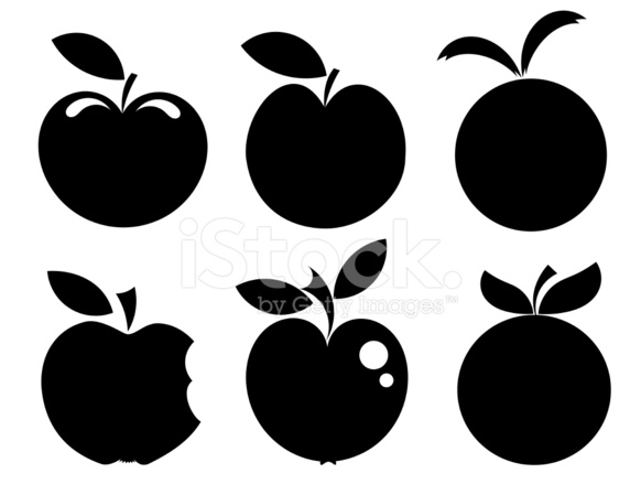 Apple Icons Stock Vector - FreeImages com
