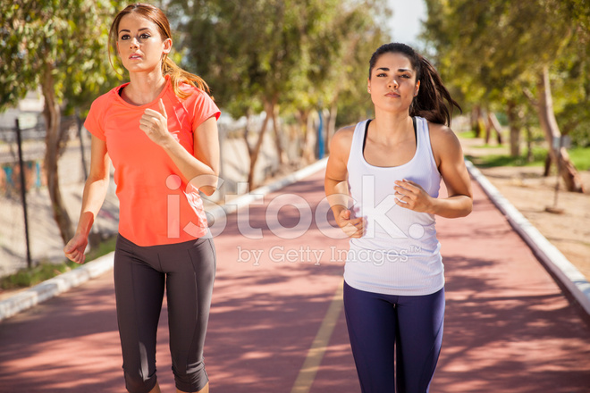1d3307eb1101 Determined Girls Running Stock Photos - FreeImages.com