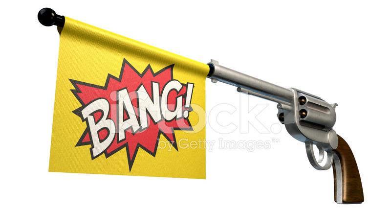 Pistol Bang Flag Stock Photos FreeImagescom