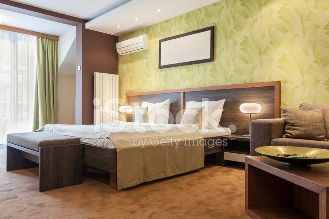 Moderne Hotel Slaapkamer Interieur Stockfoto\'s - FreeImages.com