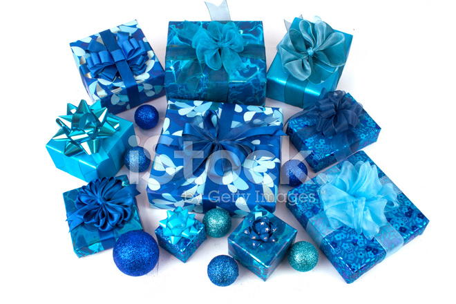 e6fe30aa Collection of Blue Gift Boxes Stock Photos - FreeImages.com