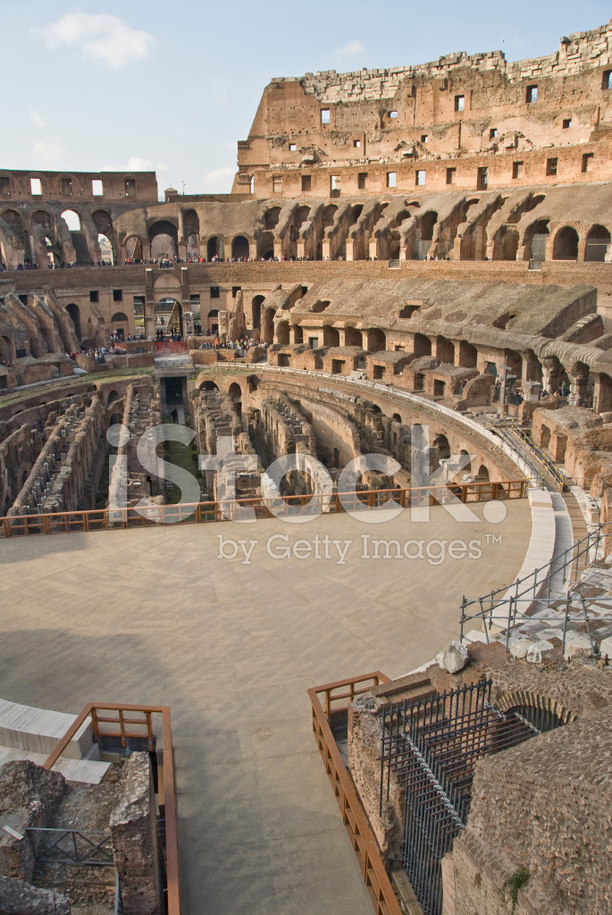 Interieur Romeinse Colosseum Stockfoto\'s - FreeImages.com