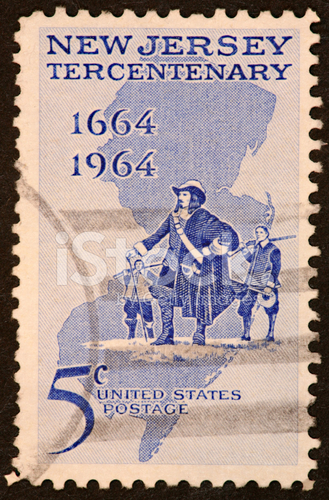 New Jersey Stamp 1964