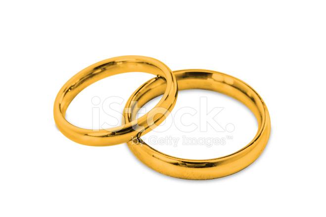 Goldene Hochzeit Ringe Stockfotos Freeimages Com