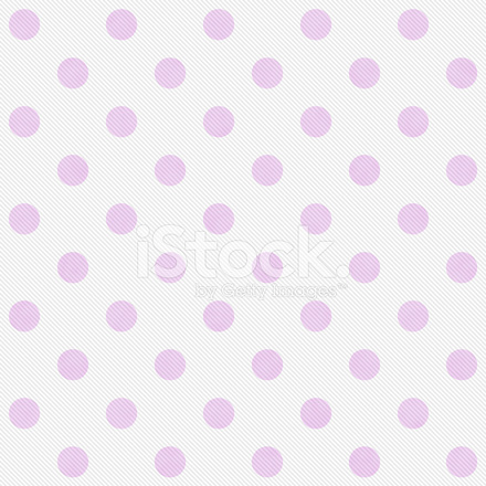 Grandi Pois Rosa E Bianco Modello Ripetere Sfondo Fotografie Stock