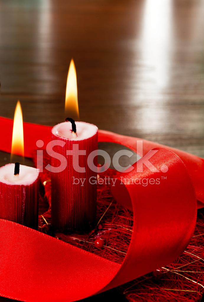 Velas De Navidad Fotografias De Stock Freeimagescom - Velas-de-navidad