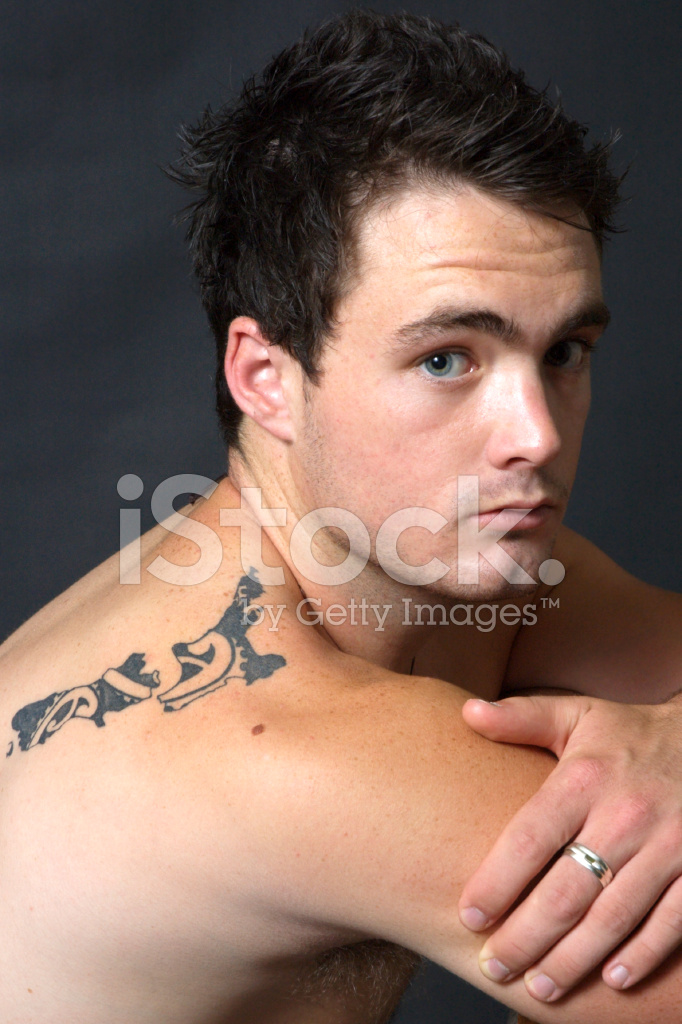 Man With Tattoo Stock Photos Freeimagescom