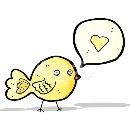 Dibujos Animados De Pájaros Cantando Stock Vector Freeimagescom