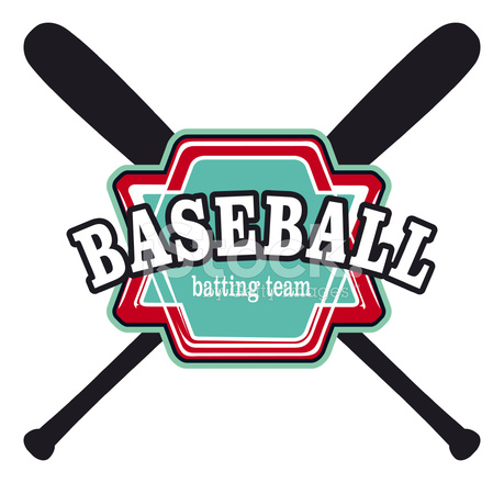 Baseball batting team shield stock photos for Jim beam signature craft for sale