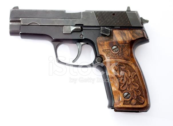 Beyaz Arka Plan üzerinde Izole Silah Stok Fotoğrafları Freeimagescom