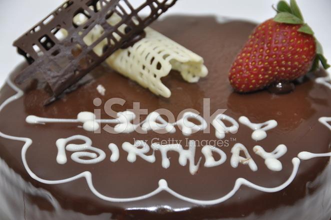 Surprising Happy Birthday Chocolate Cake Stock Photos Freeimages Com Funny Birthday Cards Online Fluifree Goldxyz