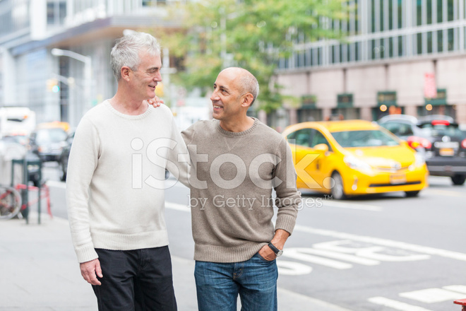 Walking around new york city as a homosexual