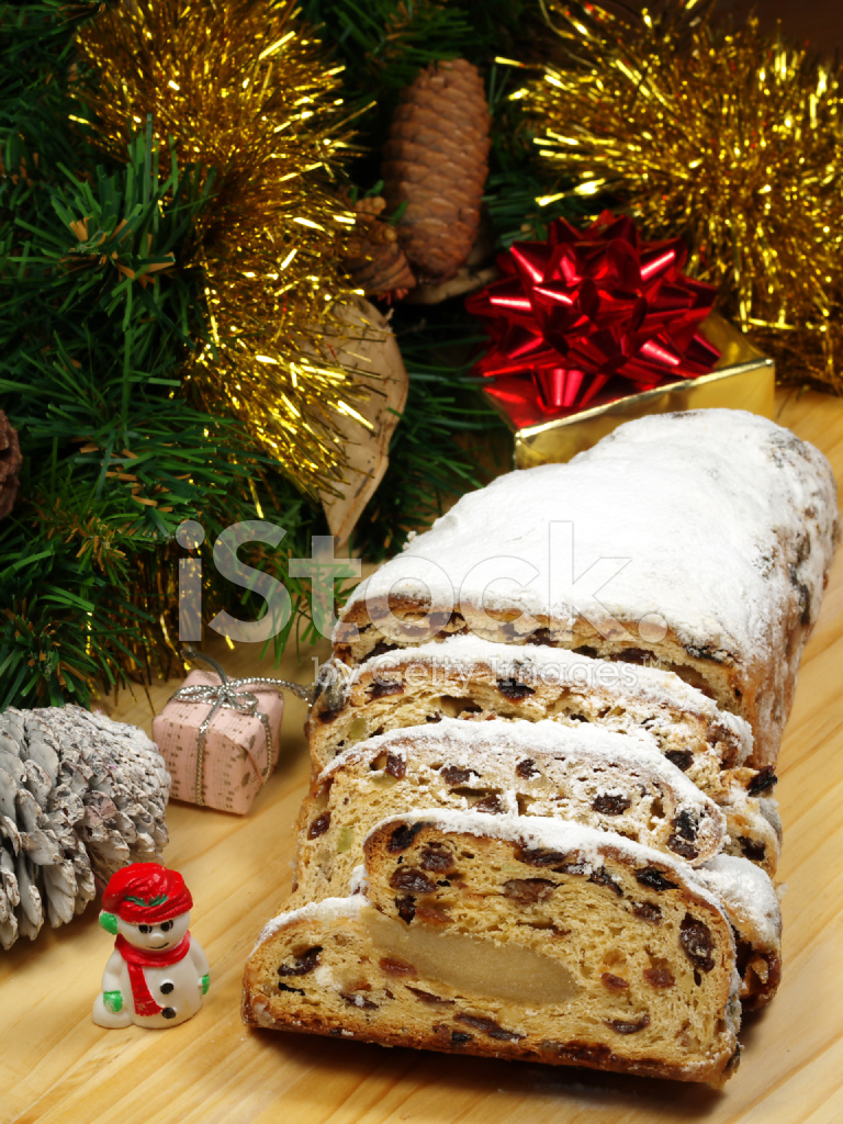 christstollen traditional german christmas bread