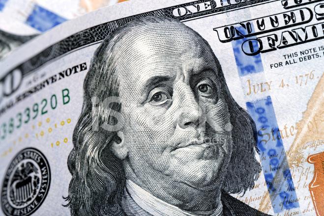 Benjamin Franklin Dollar Bill