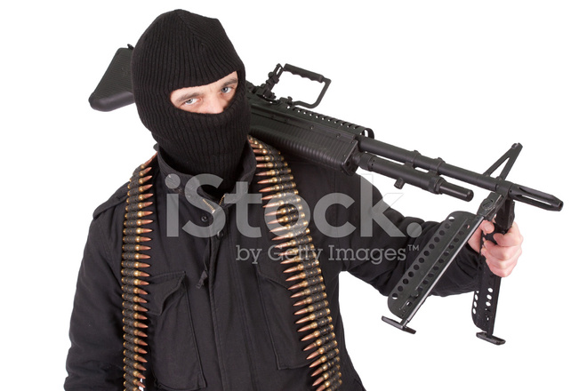 Mercenary Soldier Of Fortune Stock Photos