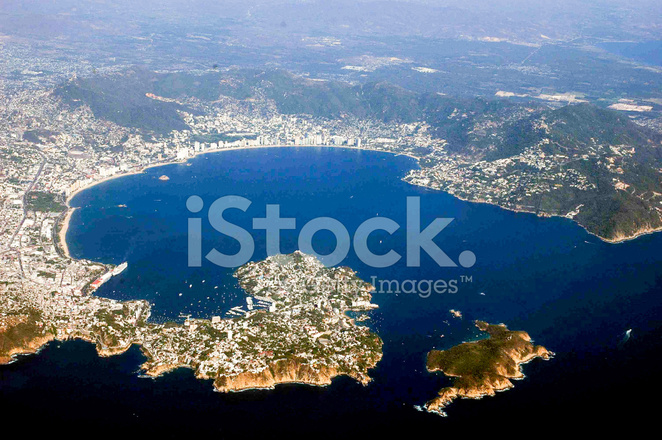 Aerial View of Acapulco, Mexico Stock Photos - FreeImages.com