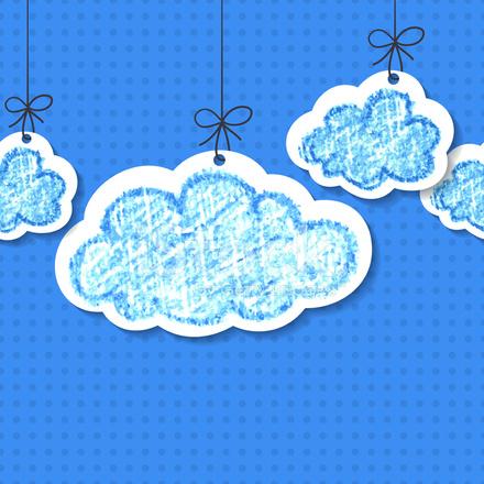 Nubes Dibujados A Mano Dibujo A Lpiz Vector Fondo Transparente