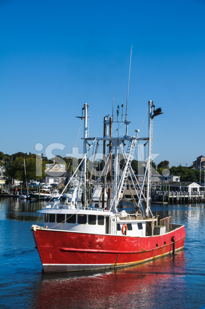 Red Fishing Trawler Stock Photos Freeimages Com