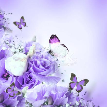 rose e farfalle