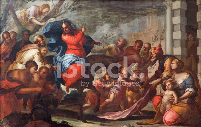 In jesus jerusalem einzug Die Passionsgeschichte