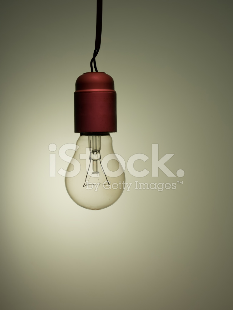 Old Style Light Bulb Wiring Stock Photos A New Fixture To