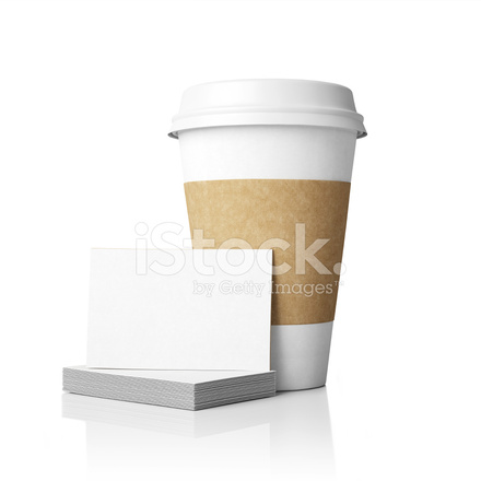 template of paper cups and cards stock photos freeimages com