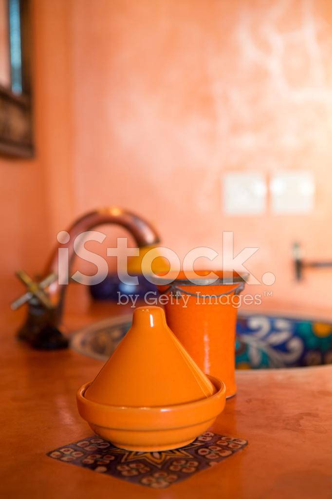 Décoration Marocaine Dans LA Salle DE Bain Traditionnelle Photos ...
