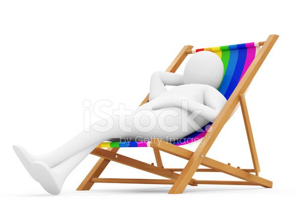 3d Man Lying On A Beach Chair Stock Photos Freeimages Com