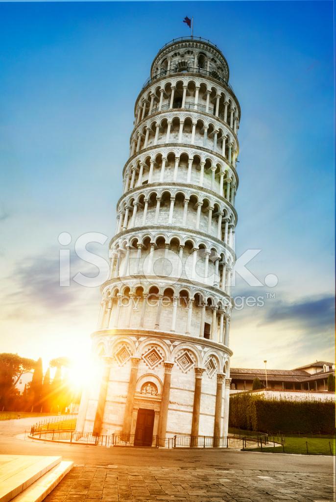 foto de Torre Inclinada DE Pisa Italia Fotografías de stock