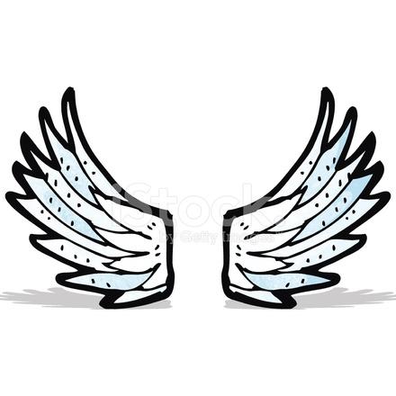 Ailes d 39 ange cartoon stock vector - Ailes d ange dessin ...