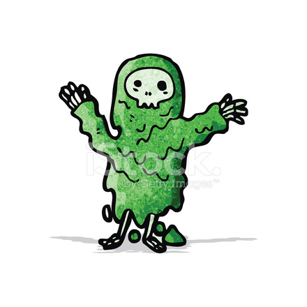cartoon melting slime zombie stock vector freeimages com free zombie clipart images free halloween zombie clipart