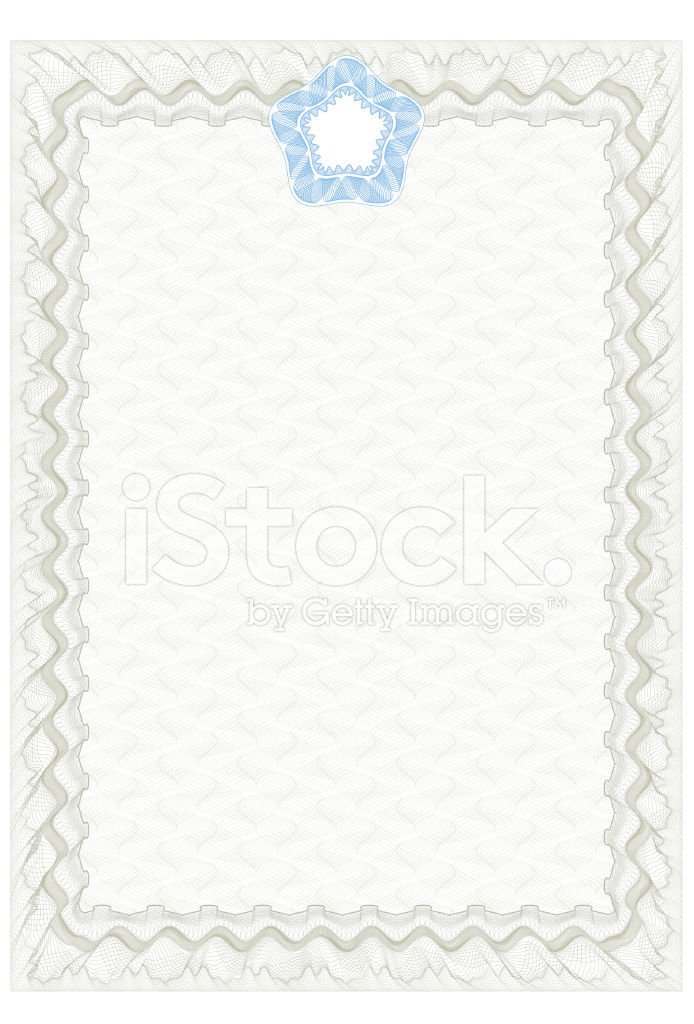 Zertifikatvorlage Stock Vector - FreeImages.com