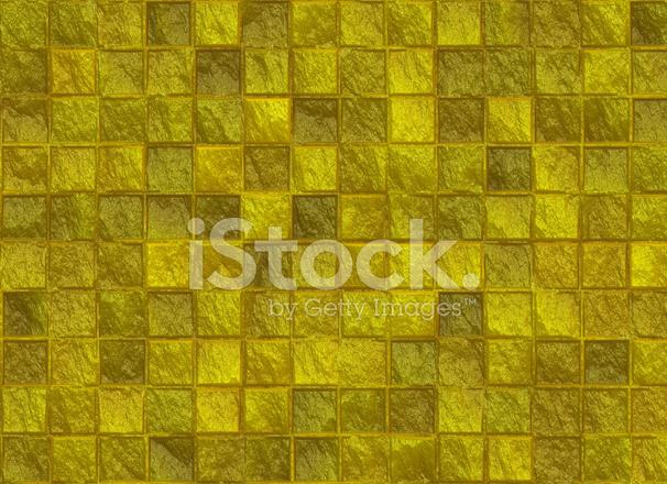 Molti quadrati texture modello piastrella doro fotografie stock